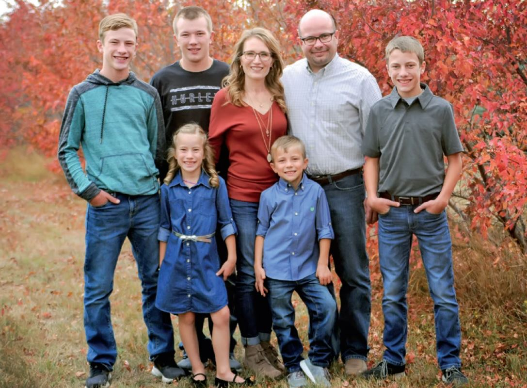 photo of Vetter family