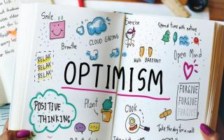 optimism graphic
